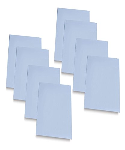 Carving Sheets Studio Pack of 8 Easy to Cut Blue Soft & Firm Artist Printmaking Block Printing set for sharp, clear prints Easy-To-Cut Linoleum (2