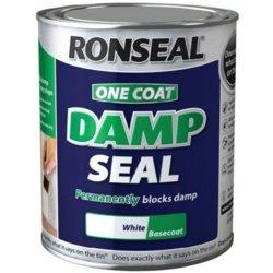 Ronseal One Coat Damp Seal White 750ml