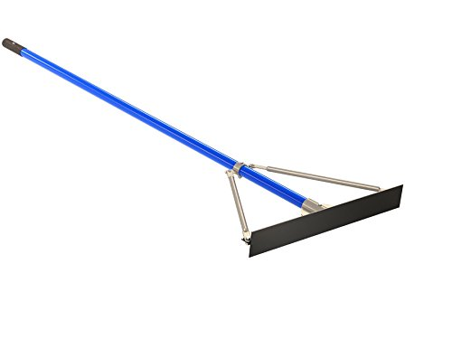 Bon 22-240 24-Inch Smooth Asphalt Lute Rake with 6-Foot Handle