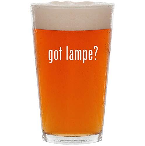 got lampe? - 16oz All Purpose Pint Beer Glass
