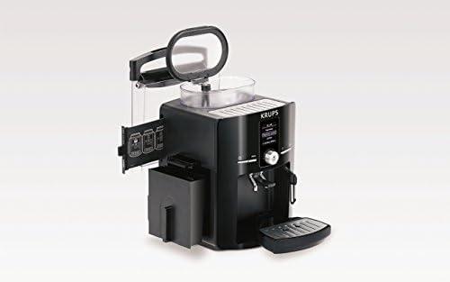 Krups EA 8255 Piano - Máquina de espresso automática, color rojo y ...