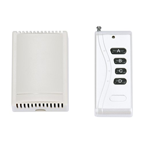 Tuscom@ 12V 10A 4 Channels Wireless Switch With Remote Control 1000M 315MHz