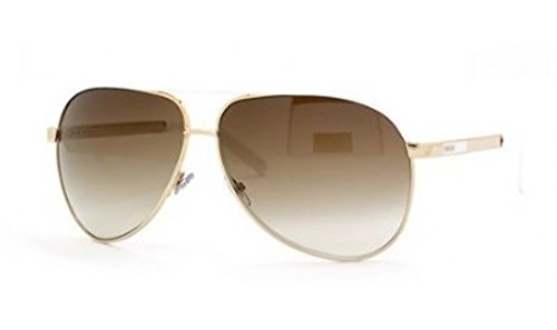 Gucci GG 1827/S 1827S BNC/YU Gold/White Aviator Sunglasses - Gucci Aviators