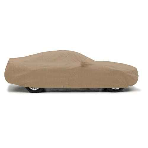 Hot Covercraft Custom Fit Car Cover for Mercedes-Benz S Class (380 Deluxe Fabric, Taupe)