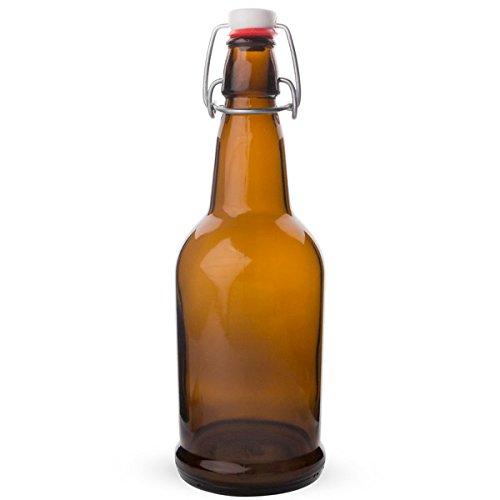 Cap Bottles Amber Litre Case product image