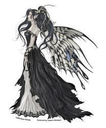 (Nene Thomas - Black and White Hope Fairy - Sticker / Decal)