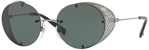 Valentino Women's VA 2003 Shiny Ruthenium/Green ()