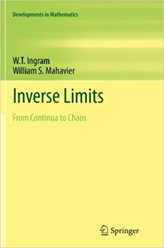 Free e book téléchargement gratuit Inverse Limits: From Continua to Chaos (Developments in Mathematics): Volume 25 by W. T. Ingram (2014-01-26) B01K950KGE by W. T. Ingram PDF DJVU