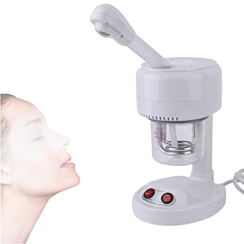 - Chrismastopher Mini Facial Steamer Desktop Ion Vapour Face Steaming Spa Salon Ozone Thermal Spray 2 In 1 Tool Beauty Care (400W)