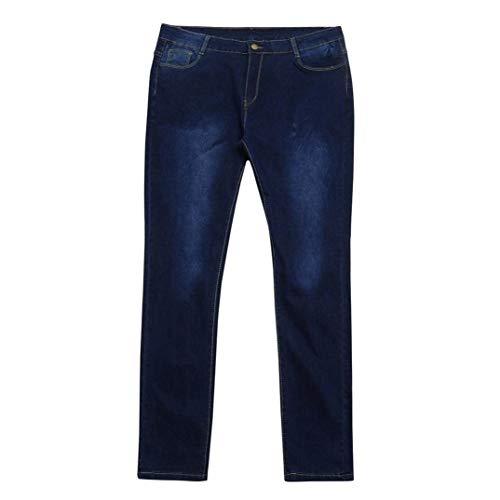 Colour Alta Pantaloni A E Denim Tasche Jeans Giovane Vita Bottoni Women Donna Con In Alta Elasticizzato Skinny RtUqwa