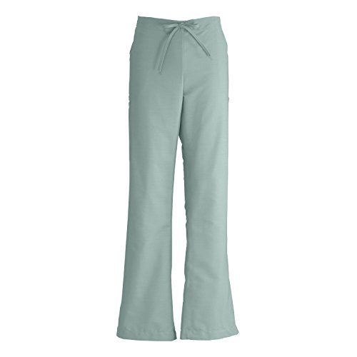 - Medline ComfortEase Ladies Modern Fit Cargo Scrub Pant, Medium Tall, Seaspray