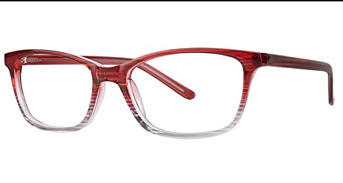 Outgoing Women's Eyeglasses - Modern Collection Frames - Burgundy Fade (Visual Eyes Collection)