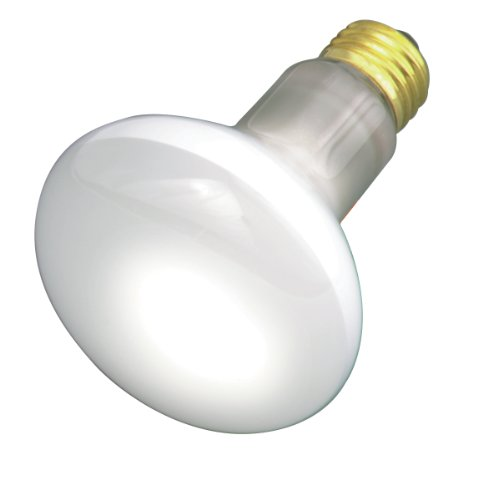 Satco S3210 120V Medium Base 30-Watt R20 Light Bulb, (120 Volt R20 Medium Base)