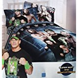 WWE Twin Comforter and Sheet Set with Throw by Franco