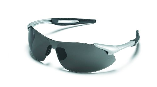 MCR IA122AF Crews Inertia Silver Frame Grey Anti-Fog Lens, 1 Pair