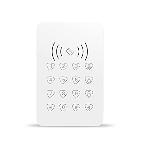 New Trends 433mhz Rfid Touch Keypad With Rfid Functiondoor Bell