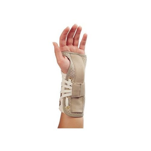 Deluxe Lace-Up Wrist Splint Right Size XL Wrist Circ. 8