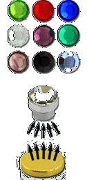 bkwear 2x M167 Mini Boucles d'oreilles Cristal Peridot Vert 3 mm Faux Ecarteur Plug d'Acier Inox Strass Tragus - Fermeture Magnétiques - pas besoin trou de l'oreille