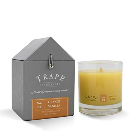 Trapp Signature Home Collection No. 4 Orange Vanilla Poured Scented Candle, 7-Ounce (Candles Orange Scented)
