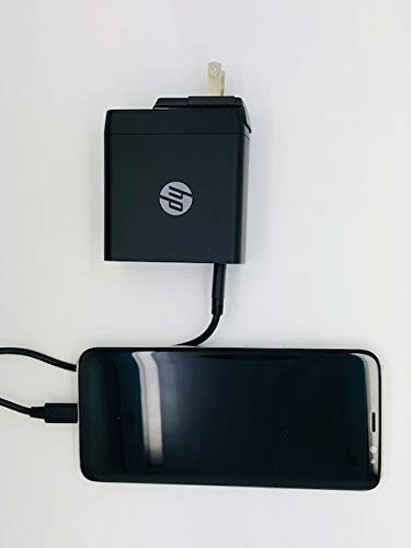 HP USB-C Power Delivery (PD) 45W Charger - ETL Certified - 2 USB-A Ports and 1 PD USB-C for Charging MacBook, ChromeBook and Other laptops by HP (Image #1)