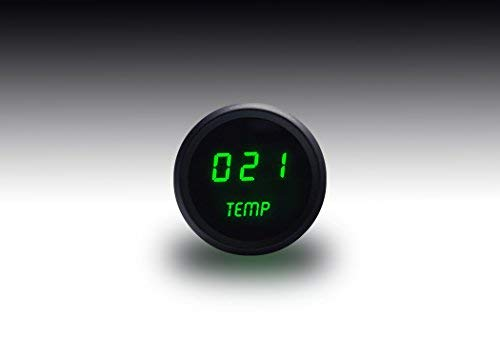 Intellitronix Green LED Digital Water Temperature Gauge by Intellitronix Corp.