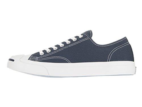 Converse Jack Purcell Canvas Ox Herren Sneaker Blau, Blau, 44.5