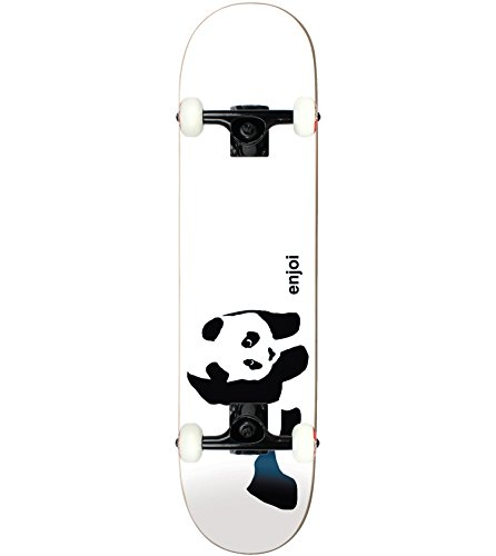 "ENJOI Skateboard Complete WHITEY PANDA 7.75"" Tensor, used for sale  Delivered anywhere in USA"