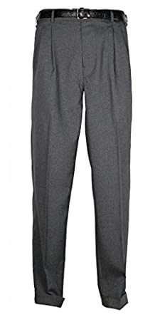 Bocaccio Mens Pleated Dress Pants at Amazon Men's Clothing store: