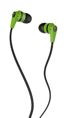 Skullcandy S2IKFZ-323 Ink'd 2.0 Earbud Headphones (Lime Green/Black)