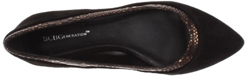 Women's Alonsa Oak Black Flat BCBGeneration vZdqOxww