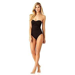 Anne Cole Women's Standard Twist Front Shirred One Piece Swimsuit