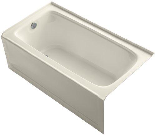 KOHLER K-1150-LA-47 Bancroft 5-Foot Bath with Left Hand Drain, ()