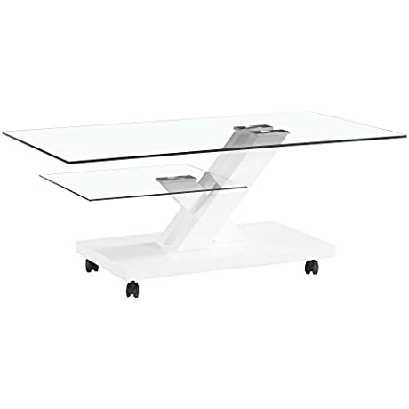 Fab Glass And Mirror Fgm TL H08 Modern Coffee Dining Room Glass Table