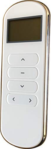Ryosva SmartThings - Smart WiFi Curtain Motor Built-in Integration with Amazon Alexa and Google Home, Remote Control Smart Motorized Electric Curtain Tracks Pre-Assembly (Remote Control 15 CH) by Ryosva SmartThings
