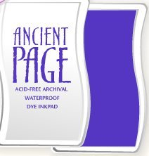 Ancient Page Dye - CLEARSNAP Ancient Page Dye Inkpad, Foxglove