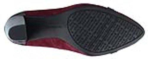 Nine West - Zapatos de vestir para mujer burdeos