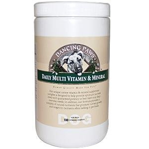 Dancing Paws Canine Multi Vitamin, 180-Count