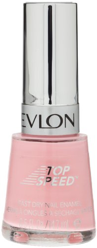 (Revlon Top Speed Nail Enamel, Pink Lingerie, 0.5 Fl Oz)
