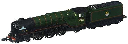 Bachmann Europe Graham Farish G372-800A Class A1 60163 'Tornado' BR Lined Brunswick Green N Scale Model Train