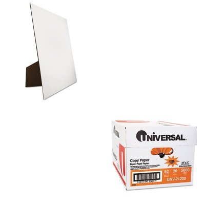 KITGEO26880UNV21200 - Value Kit - Geographics Easel Backed Board (GEO26880) and Universal Copy Paper (UNV21200)