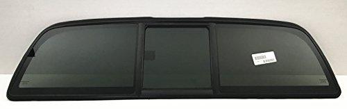 PLK/ATI Fits 2005-2015 Toyota Tacoma Pickup Rear Window Slider Back Glass OEM Look USA (Look Rear Window)