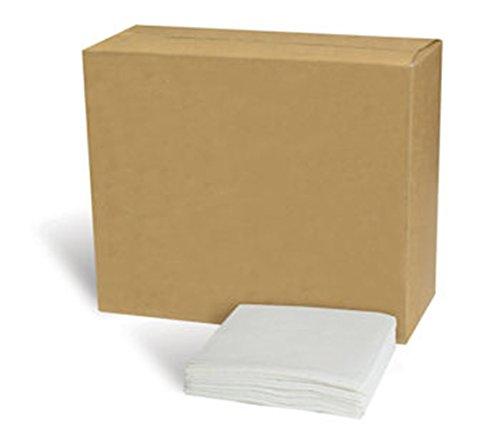 (AFFEX 1/4 Fold Paper Beverage Napkin, 1-Ply, White, 1,000 Napkins Per Pack, 4 Packs Per Case)