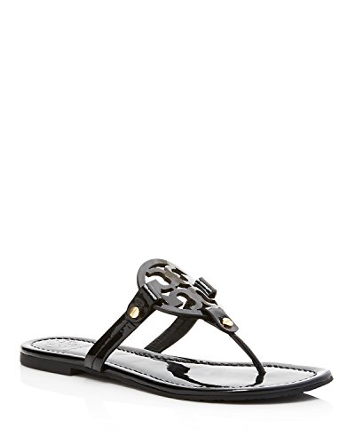 Pictures of Tory Burch Miller Patent Leather Sandal Black (9) 1