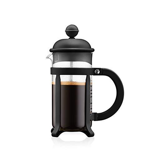 Bodum - 1903-01 - Java - Cafetera 3 Tazas - 0,35 l - Color Negro