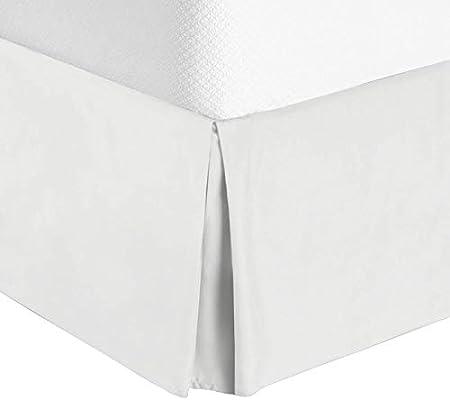 Amazon.com: Nestl Bedding Bed Skirt   Soft Double Brushed Premium