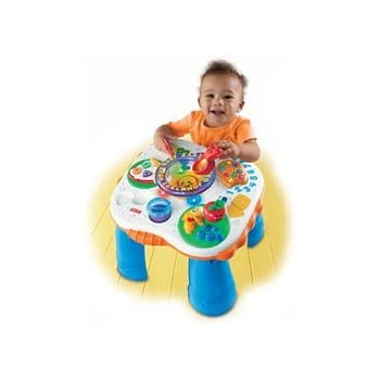 Amazon.com: Fisher Price - Laugh & Learn Learning Table ...