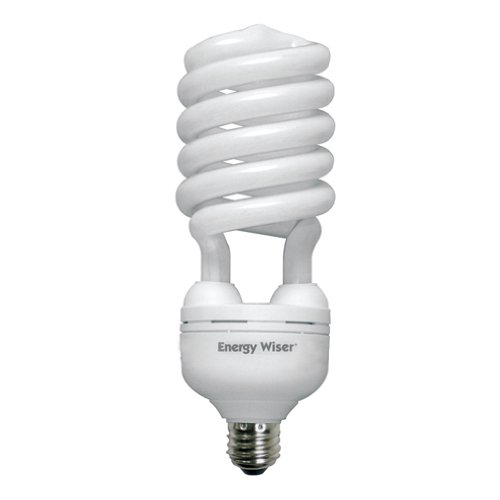 Bulbrite CF55C/WW 55Watt High Wattage Compact Fluorescent Coil Bulb, Warm White (Cfl 55w)