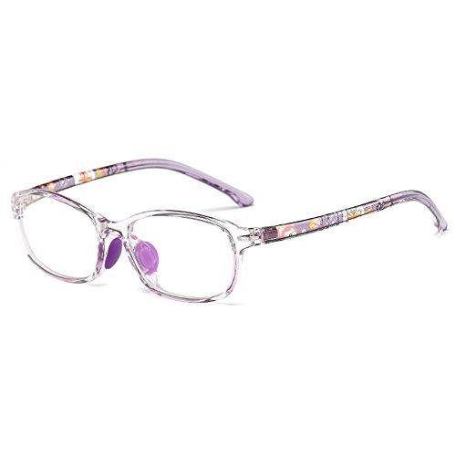 Fantia Non-Prescription Glasses Frame TR90 Clear Lens Kids Eyeglasses - Prescription China Glasses