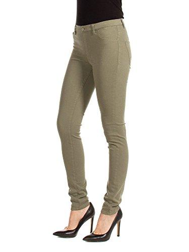 Verde Skinny Jeans Carrera 736 Donna IF6q8x