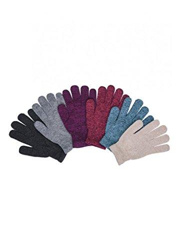 Women Knit Gloves - 2ND DATE Women's Winter Magic Gloves - MARLEDW-Pack of 12